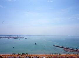 Blue Sea- Deluxe Seaview Apartment, Xiamen (Xiang'an yakınında)