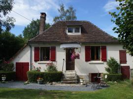 Hansel & Gretel Cottage, Château-Chervix (рядом с городом Puy-la-Brune)