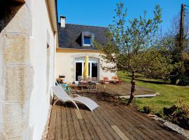 Logis Coaterel Huella, Saint-Nic (рядом с городом Argol)