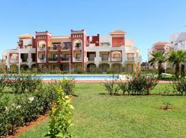 Appartement rez-de-jardin avec piscine - Résidence privée, Saïdia