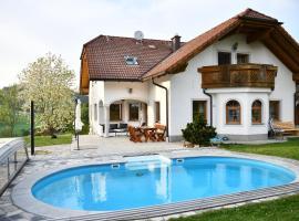 Gemütliches Apartment in Rohrbach, Oepping (Haslach an der Mühl yakınında)