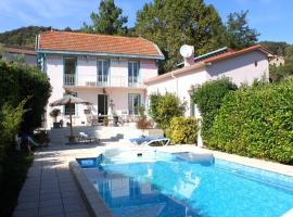 Appartement Côté Jardin, Amélie-les-Bains-Palalda (рядом с городом Taulis)