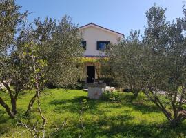 Family House with Olive Tree Garden, Štivan
