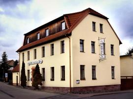 Landhotel und Gasthof Stadt Nürnberg, Ahlsdorf (Tæt på Lutherstadt Eisleben)