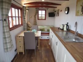 shepherds hut, Jodrell Bank