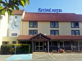 Kyriad Lyon Est - Saint Bonnet De Mure, Сен-Бонне-де-Мюр