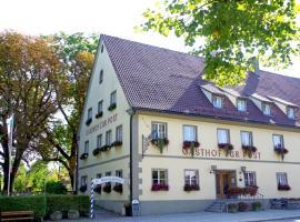 Hotel Gasthof zur Post, Wolfegg (Kißlegg yakınında)