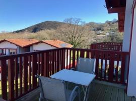 Apartment Résidence oberena - quartier résidentiel au pied des montagnes, Ascain (рядом с городом Сар)