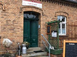 Alte Schule Café und Pension, Fürstlich Drehna (Werchow yakınında)