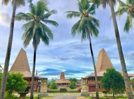 Rumah Budaya Sumba, Lokokaki (рядом с городом Ubuoleta)