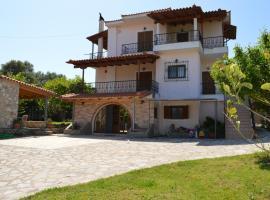Ionian Sea Base Floor Villa Apartment at Kyllini, Kástron