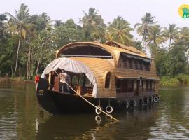 2 BHK Houseboat in Finishing Point, Alappuzha(1803), by GuestHouser, Alleppey