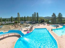 Camping Les Rives de Condrieu, Кондриё (рядом с городом Шонас-л'Амбаллан)