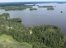 Tuomarniemi Cottages, Коконваара (рядом с городом Outokumpu)