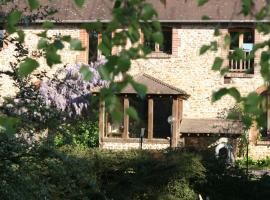 Chambres d'hôtes Ferme de la Moinerie, Houlbec-Cocherel (рядом с городом Croisy-sur-Eure)