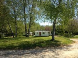 camping detentes aux cabanes, Lagraulière (рядом с городом Chanteix)