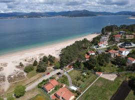 Casa en playa Aguieira, Porto do Son (Goltar yakınında)