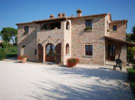 Villa il Pino, Cortona (Berdekatan Farneta)
