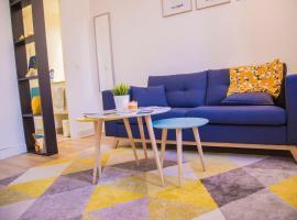 Studio cosy avec mezzanine à 6 mins de Paris, Сен-Дени (рядом с городом L'Île-Saint-Denis)