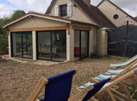 House for 13 people in the heart of France: Montresor