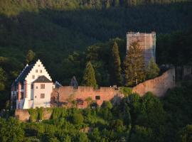 Panorama-Blick Miltenberg, 3 Pers., zentr., am Main, Terrasse, Bootverleih, P, Miltenberg (Großheubach yakınında)