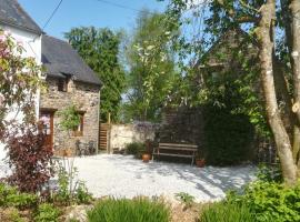 Country Cottages Brittany, Paule (рядом с городом Glomel)