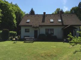 Dvoupodlažní apartmán, Staré Splavy (Újezd yakınında)