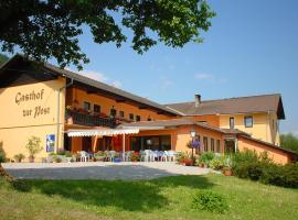 Gasthof Hotel Zur Post, Ferlach (Oreinschnak yakınında)