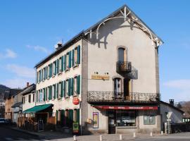 Hotel des voyageurs Chez Betty, Neussargues-Moissac (рядом с городом Allanche)
