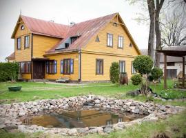 Seno grafo svečių namai, Rokiškis (Near Aknistes)