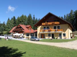 Alpengasthaus Gießlhütte, Kötsch (Lading yakınında)