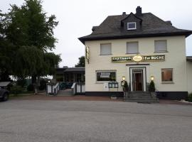 Gasthaus Pension Zur Buche, Mittelstrimmig (Blankenrath yakınında)