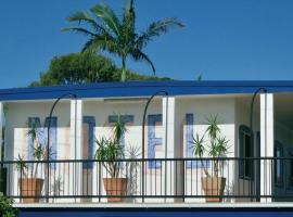 The Sails Motel Brunswick Heads, Brunswick Heads (Ocean Shores yakınında)