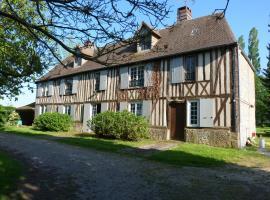 Manoir de l'Eveillerie, Caorches (рядом с городом Menneval)