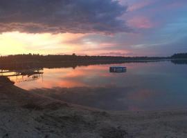 Incredible Lake Home - 5BR/3BA, 400ft Private Sandy Beach, Wi-Fi, Kid-Friendly, Nevis (Near Leech Lake)