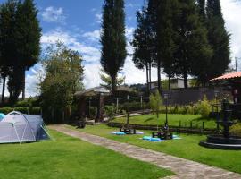 Campo Wasi, Hacienda La Victoria (San Andrés yakınında)