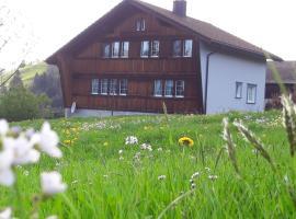 Ferienstudio Familie Fässler-Dörig, Appenzell (Gais yakınında)