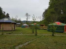Glan Mydyr Woodland Yurts, Ciliau-Aeron