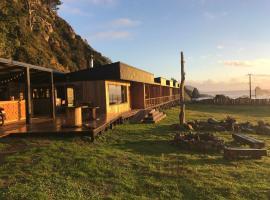 Pilolcura Lodge, Valdivia (Curiñanco yakınında)