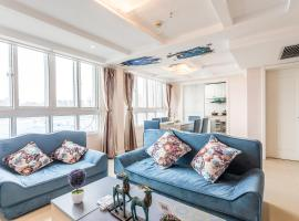 《Loft Mediterranean》Theme Three-bedroom Near Dinosaur Park And Dino Town, Changzhou (Longhutang yakınında)