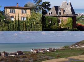 La Villa Marguerite, Pourville-sur-Mer (рядом с городом Varengeville-sur-Mer)