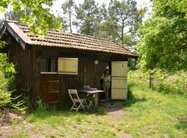 Cabane en forêt, Onesse-et-Laharie (рядом с городом Garrosse)