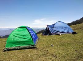 Janjehli camping, Mandi (рядом с городом Jhungi)