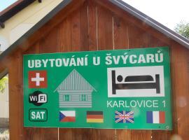 Ubytovani U Švýcarů, Turnov (Radvánovice yakınında)