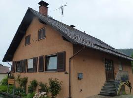 Ferienwohnung Willi, Winterkasten (Lindenfels yakınında)