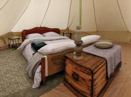 La Fortinerie Glamping Bell Tent
