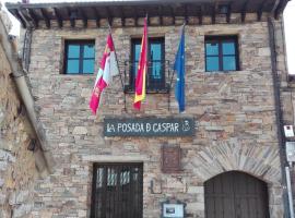 Posada De Gaspar, Rabanal del Camino (Chana de Somoza yakınında)