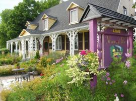 Le Manoir de Tilly, Saint-Antoine-Lotbinière (Laurier Station yakınında)