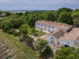 Le Logis de La Grosse Pierre, Arces-sur-Gironde (рядом с городом Barzan)