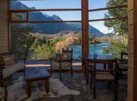 Fundo Chollinco Lodge, llifen (Molina yakınında)